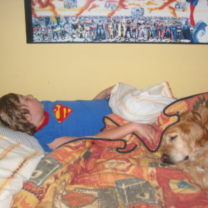 A boys best friend is his dog (read Kobe's story)